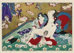 kunisada - tale of genji - shunga