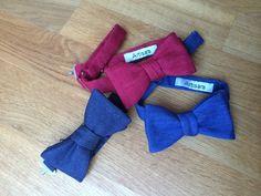 Artisara denim bow ties -  made of 100% bio cotton, fresh, stylish and cruelty-free. www.artisara.com