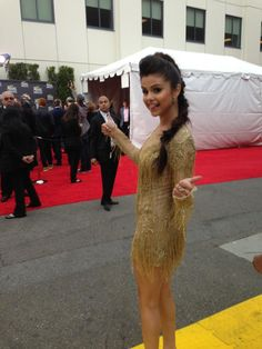 Selena just hit the red carpet