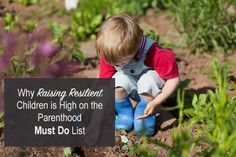 parents must raise resilient kids