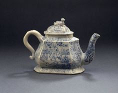 Teapot England (Staffordshire), 1740 The British Museum
