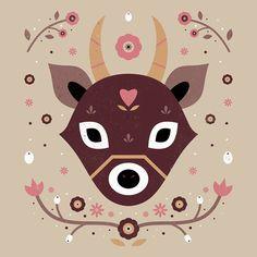 Carly Watts Art & Illustration: Autumn Deer