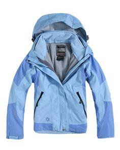 58733f1cd2 The North Face Femme Bleue Veste 3 In 1 Jacke, North Face Outlet, North