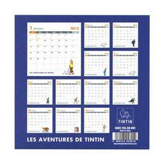 Amazon.co.jp: CDカレンダー 卓上 TINTIN【キャラクター】<2012年1月から2012年12月対応> TCL: 文房具・オフィス用品