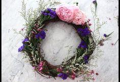 DIY: Garden Flower Wreath | HGTV Canada