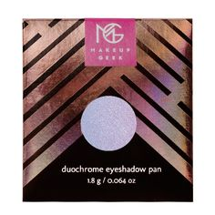 Makeup Geek Duochrome Eyeshadow Pan in Blacklight