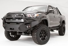 Fab Fours TT16-B3652-1 Pre-Runner Winch Front Bumper Toyota Tacoma 2016-2017
