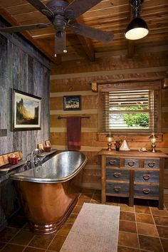 Cabin Style Bathrooms Collection 28