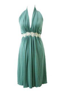 Mint Marilyn Dress Plus Size Dress Prom Dress Evening by tamarziv, $90.00