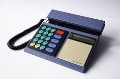 BANG & OLUFSEN Telephone Beocom 2000 Purple Phone Corded Analog Designer Modern Minimalist Danish LCD 1986 Multicolor 80s Vintage Retro – ETSY RetroSparkShop