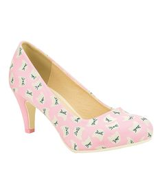 Look at this T.U.K. Light Pink All Kitty Anti-Pop Pump on #zulily today!