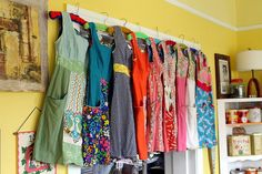 ...a perfect collection of everyday dresses...sigh...