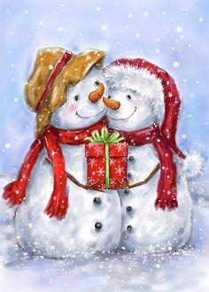 Christmas Rock, Christmas Scenes, Christmas Pictures, Christmas Snowman, Christmas Time, Vintage Christmas, Christmas Crafts, Christmas Decorations, Christmas Ornaments