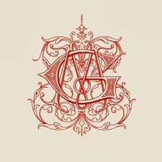 Monogram by Ginger Monkey.