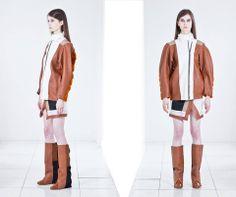 Jacob Birge Vision SS14 | #baltic #designer #fashion #collection #instalation