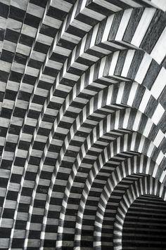 fabforgottennobility:   lostinpattern:  Chiesa di San Giovanni Battista byWhatwonders  Mario Botta