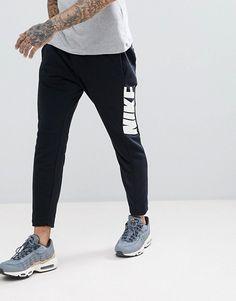 f45618e2ec88 Nike Hybrid Tracksuit in Black Track Pants Mens