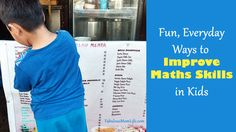 Fun, Everyday Ways to Improve Maths Skills in Kids - Fabulous Mom Life Indian Parenting, Parenting Hacks, Math Skills, I Don T Know, First Names, Maths, Good Things, Shape, Education
