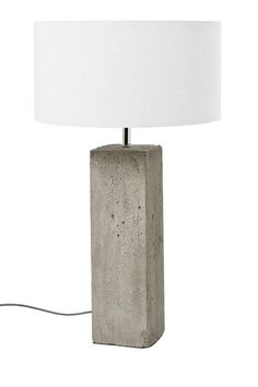 Concrete Fella Lamp #concretefurniture