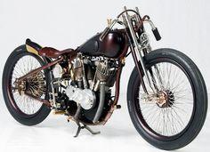 """Speed Demon"" Harley-Davidson JD 1919 by Abnormal Cycles | Harley-Davidson VL 1930 frame | Italy"