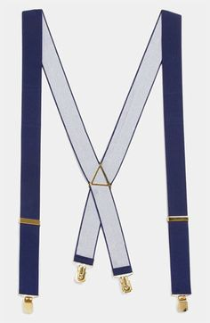 Now trending: Navy suspenders for the groom + his guys. @Nordstrom