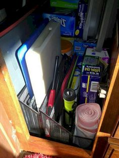The Best Cheap and Easy RV Camper Organization and Storage for Travel Trailers No 68 (The Best Cheap and Easy RV Camper Organization and Storage for Travel Trailers No design ideas and photos - Wohnwagen Camper Hacks, Bus Camper, Rv Campers, Camper Trailers, Travel Trailers, Rv Hacks, Camper Life, Rv Life, Caravan Hacks