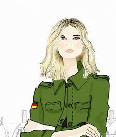 Illustration Fashion, Illustrator, Sketches, Portrait, Anime, Fashion Design, Fictional Characters, Art, Drawings