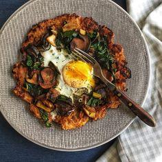 Bramborák s houbami a IQejcem Paella, Fresh, Ethnic Recipes, Food, Meal, Essen, Hoods, Meals, Eten
