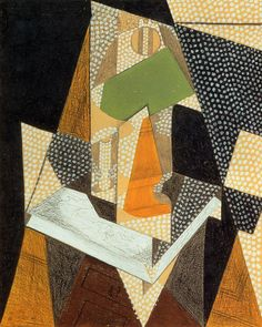 Artist: Juan Gris Completion Date: 1916 Style: Synthetic Cubism Genre: portrait Gallery: Private Collection. Georges Braque, Rene Magritte, Pablo Picasso, Synthetic Cubism, Francis Picabia, Spanish Painters, Spanish Artists, Oeuvre D'art, Canvas Art Prints