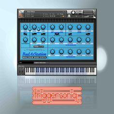 Bad AsStation #kontakt #bass #vsti #synthesizer #analog