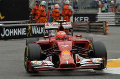 Kimi Raikkonen Scuderia Ferrari Monaco GP 2014