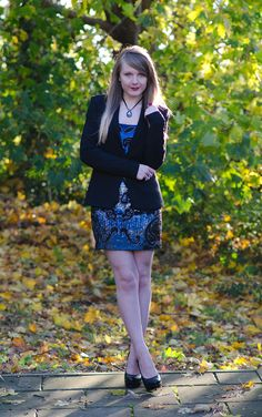 Styling The Sequin Needle & Thread Party Dress | Raindrops of Sapphire