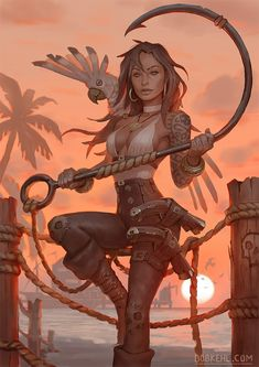 Black Rat Bellamy by BobKehl on DeviantArt Female Character Design, Character Drawing, Character Design Inspiration, Character Illustration, Character Concept, Fantasy Warrior, Fantasy Girl, Fantasy Rpg, Fantasy Artwork