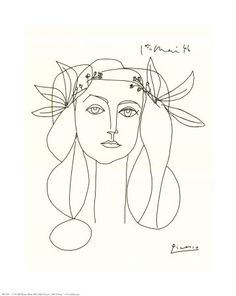 I love her! Been longing for this Picasso print for a long time now...