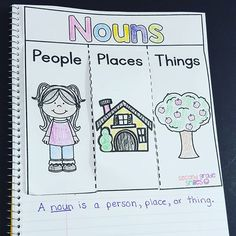 Started off interactive notebooks with nouns today and they came out great! I love that my students can refer back to these all year! (Link in profile) #interactivenotebooks #whatitaughttoday #iteachsecond #iteachtoo #secondgradesmiles