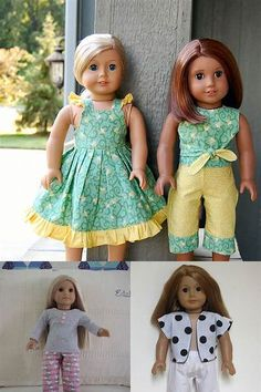 Free Printable 18 Inch Doll Clothes Patterns - Bing images
