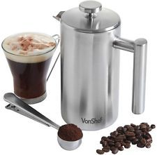 Check This Out! VonShef 6 Cup Cafetiere and Spoon #OnSale #Discount #Shopping #AddMe #FollowMe #BestPins