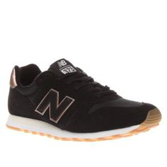 6a5658e98c1 new balance 373 suede and mesh black and gold from schuh Gold New Balance