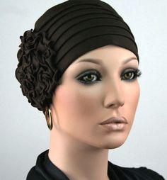 ELEGANCA DAMEN MÜTZE CHEMO TURBAN BRAUN Kappe Damenmütze Cap Chemomütze Romy Neu | Kleidung & Accessoires, Damen-Accessoires, Hüte & Mützen | eBay!