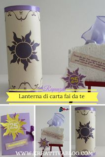 lanterna di carta fai da te rapunzel  per un matrimonio da favola  #fiorisconoidee #favors #party fairy, party favors, free download