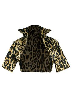 50s Bolero - leopard