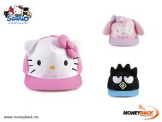 MONEYBACK MEXICO. Take home a child's cap of any of the SANRIO characters, or purchase any other product, like school supplies, clothes, toys, jewelry or bags and get a tax refund with Moneyback! #moneyback www.moneyback.mx