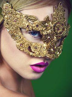 Unique & Handmade Luxury Masked Ball Masquerade Masks- Masque Boutique
