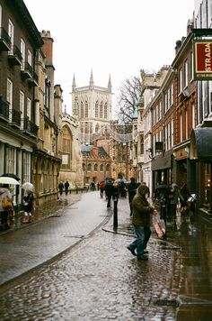 Cambridge, England..It looks like Christmas.  Some places are just meant to be visited at Christmas.