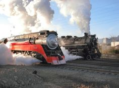Steam Locomotive Race