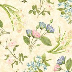 Hydrangea Radiance collection by Wilmington Prints. Wilmington Prints, Hydrangea, Scrap, Gardening, Wallpapers, Display, Fabric, Collection, Paper