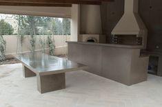 Concrete counter top #stone #tables Concrete Countertops, Dining Table, Counter Top, Stone, Tables, Furniture, Home Decor, Homemade Home Decor, Diner Table