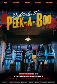 Red Velvet - [Perfect Velvet] Album Cd+Booklet+Photocard Peek A Boo Eldo 80s Posters, Kpop Posters, Wall Posters, Velvet Wallpaper, Seulgi, Kpop Girl Groups, Kpop Girls, Peek A Boos, K Pop