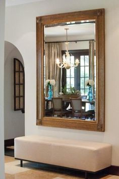 53 Foyer Decor To Inspire Your Ego Outstanding Foyer Decor from 53 of the Charming Foyer Decor collection is the most trending home decor this season. This Foyer Decor look related to m. Wall Mirrors Entryway, Entry Foyer, Entryway Decor, Mirror Mirror, Front Entry, Entryway Ideas, Apartment Entryway, Mirror Ideas, Entrance Ideas