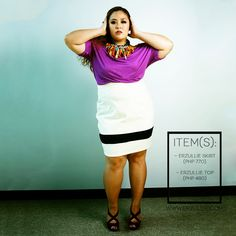 "Erzullie Fierce Plus Size Fashion Philippines: PLUS SIZE STYLE: #OOTD ""COLOR POP"""